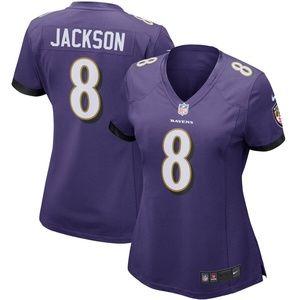 Women's Baltimore Ravens Lamar Jackson Jersey
